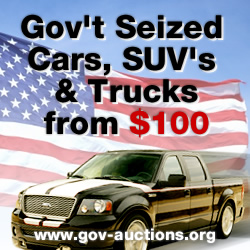 America's #1 Trusted Source of Gov't Car Auctions - Click Here Now!